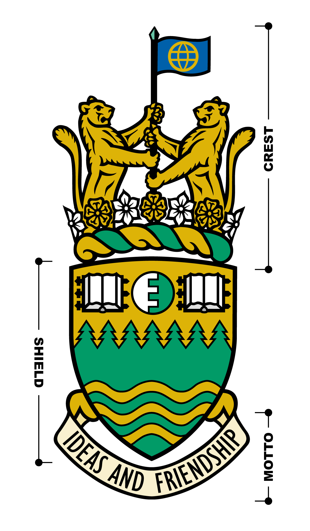 Green College Coat of Arms
