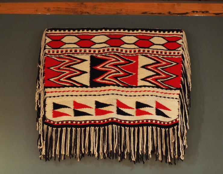 Musqueam weaving